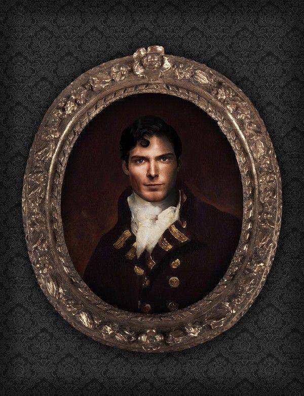 Superman - Portrait, Like a Sir by Berk Senturk on bloodyloud.com