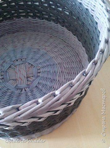 Материалы и инструменты Плетение Ленивая Ленивая   Трубочки бумажные фото 7