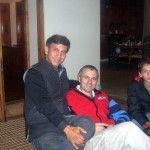 Nakul with J&K CM Omar Abdullah