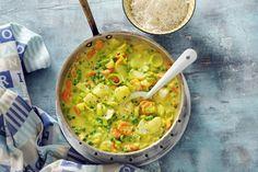Kijk wat een lekker recept ik heb gevonden op Allerhande! Visragout met rijst en groente