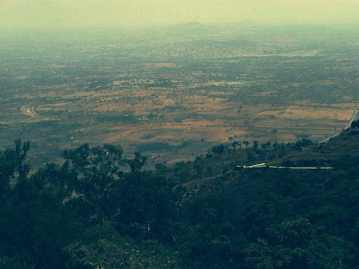 Fields in Karnataka, India