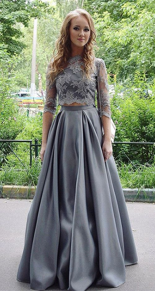 long prom dresses,two piece prom dresses,lace prom dresses,prom dresses for teens,cheap prom dresses