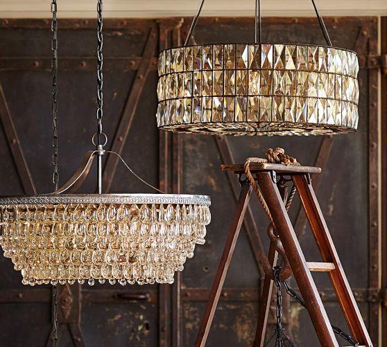 Foyer Lighting Pottery Barn : Ideas about foyer chandelier on pinterest entry