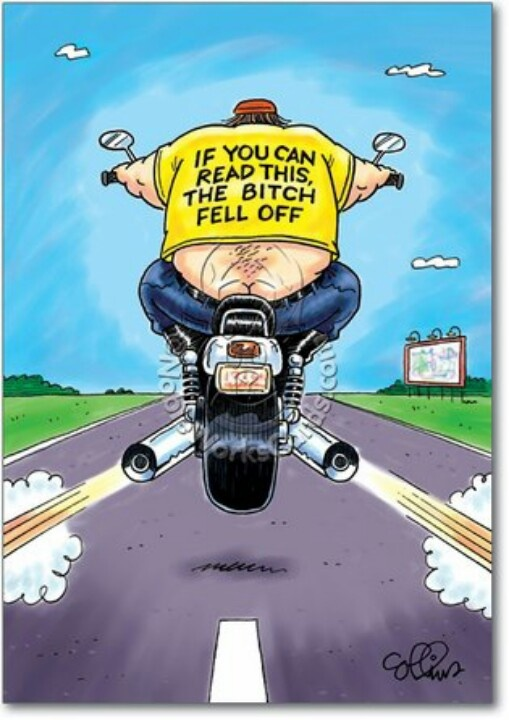 biker jokes a great collection of jokes funny pictures - 505×720