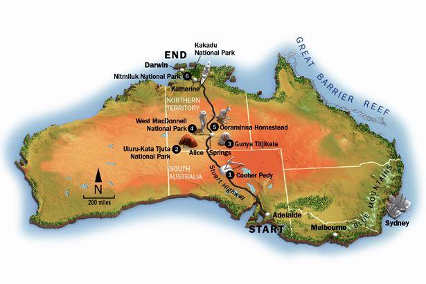 Australian outback australia adventure travel map national australian outback australia adventure travel map national geographic adventure adventurin n australia pinterest australia national gumiabroncs Image collections