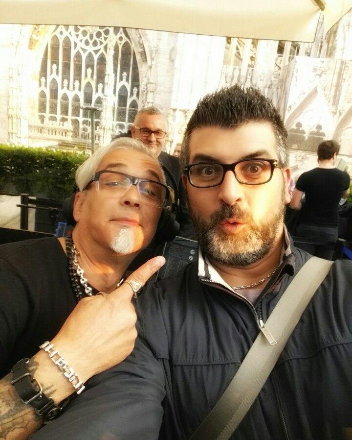 #Dadofunkypoetz w/ #Papadj from #BuddhaBar #MonteCarlo @ #LaTerrazza della #Rinascente #Milano