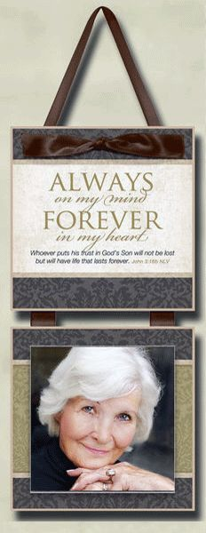 Always On My Mind - Memorial Plaque