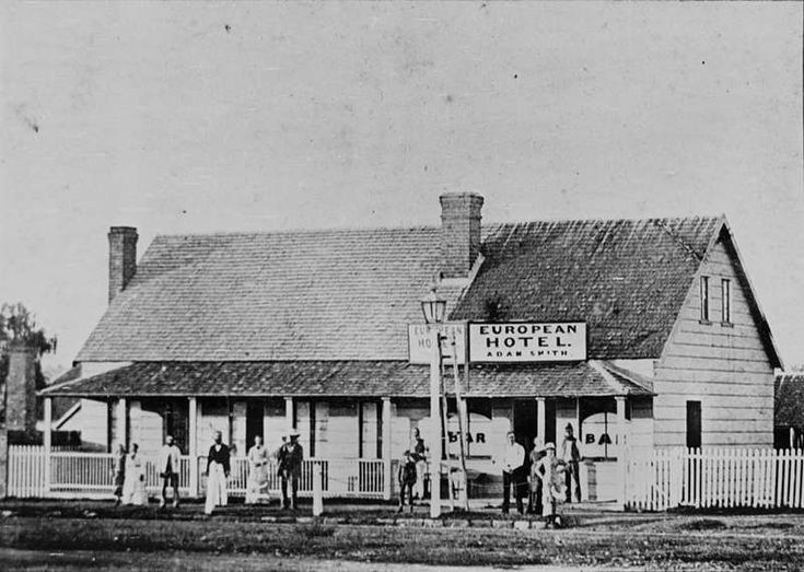 European Hotel, Warwick, Queensland ca. 1880