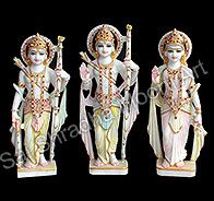 Buy ram darbar marble statues for home décor online at reasonable price in India who have huge collection of ram darbar moorti in different size and shape.