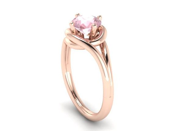 This ring is from my Grace Collection, and its a unique Morganite engagement…