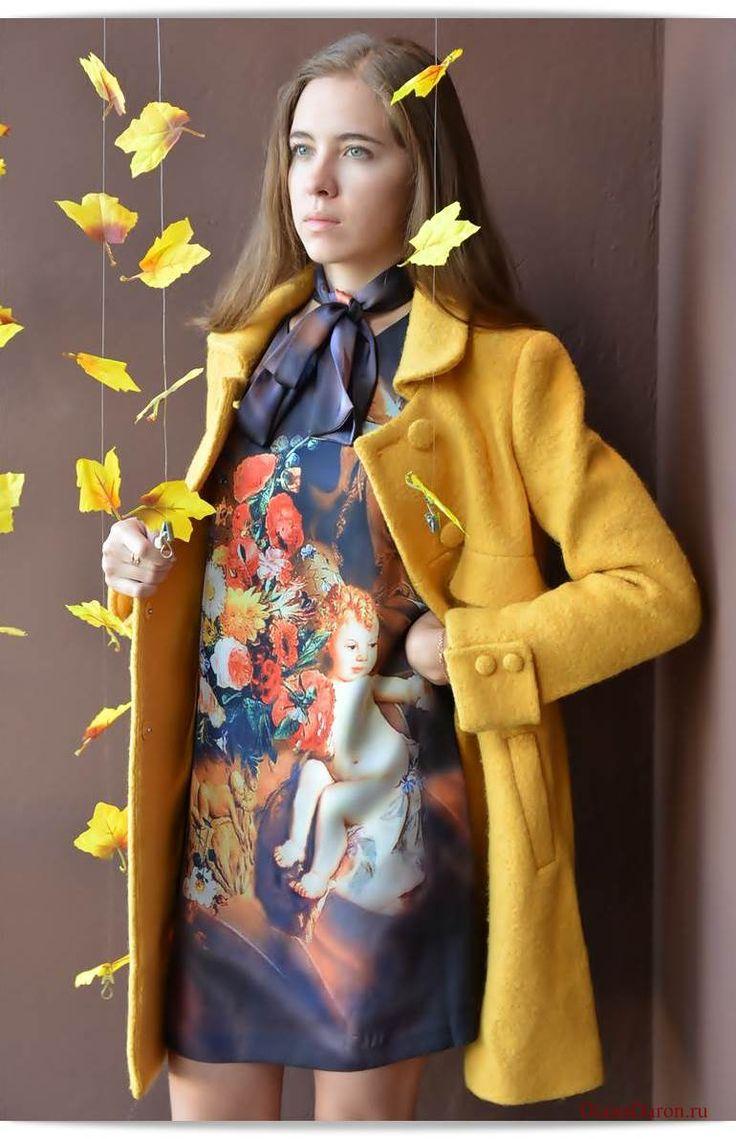 Желтое пальто - отличный вариант для осеннего сезона. Если ваша осень выдалась теплой и нежной, как у меня, то это ваш вариант! Фотообзор