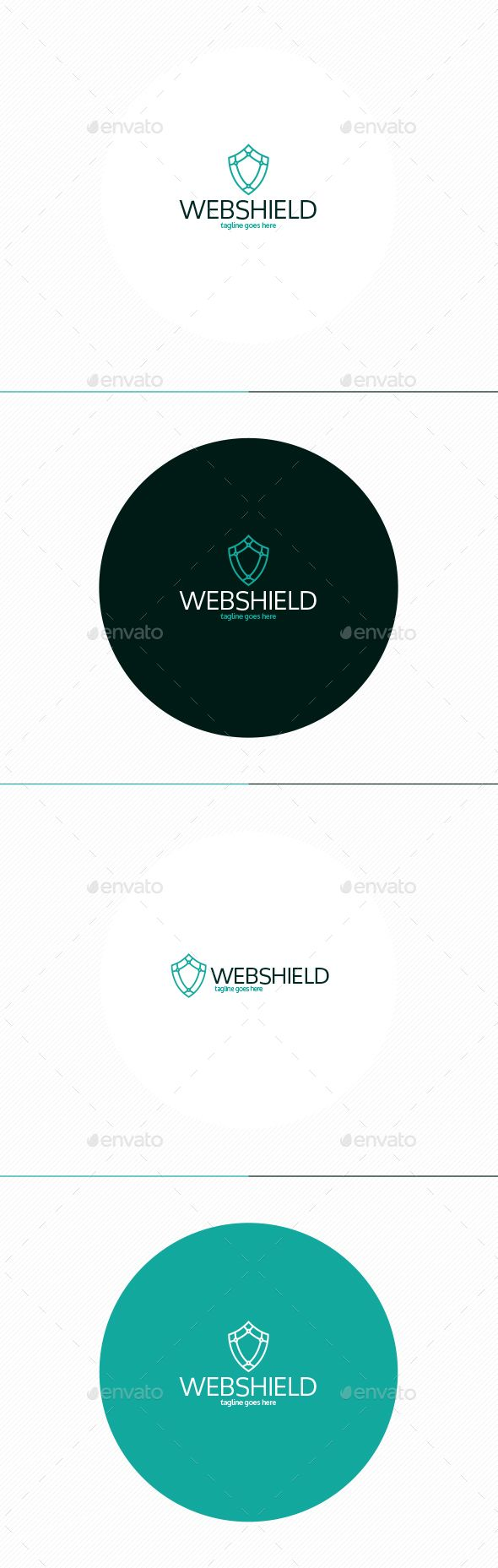 Web Shield Logo  #technology #web #world • Available here → http://graphicriver.net/item/web-shield-logo/15362611?s_rank=188&ref=pxcr