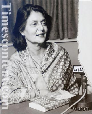"""File picture of """"Maharani Gayatri Devi"""", born as 'Princess Gayatri Devi' of Cooch Behar, Kolkata, was the third Maharani of Jaipur from 1939 to 1970 through her marriage to HH Maharaja Sawai Man Singh II. She had been counted in 'Ten Most Beautiful Women of the World' by Vogue Magazine for her eternal beauty and grace."""