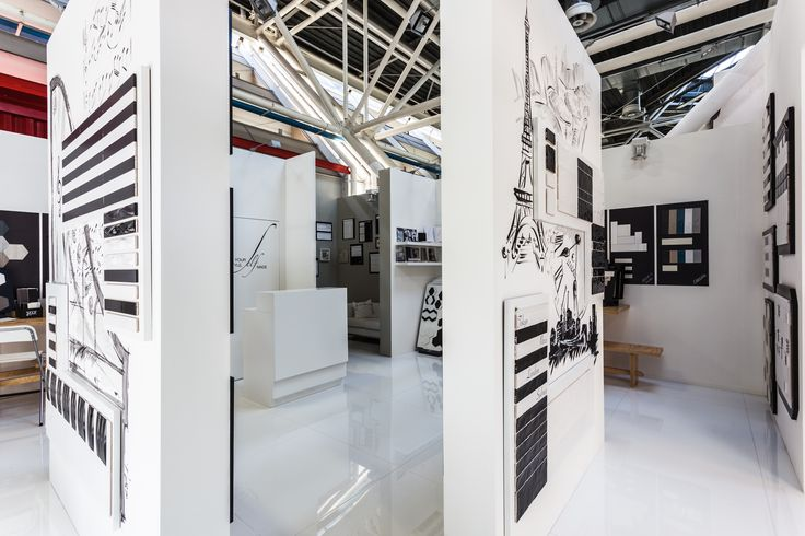 ExtrAct from Cersaie #beauty #ceramics #fair #bologna #event #stand #textil #fabric #exhibition #cersaie