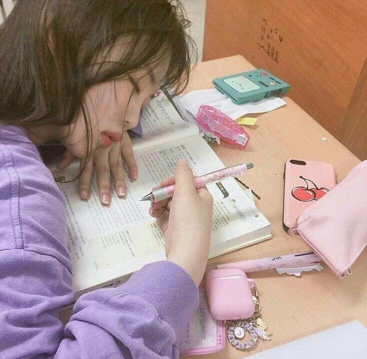 Ulzzang Daily Studying Girl Ulzzang Korean Girl Korean Girl Photo
