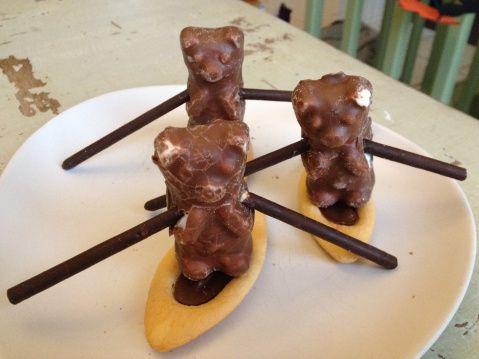 course d'aviron des koalas guimauve