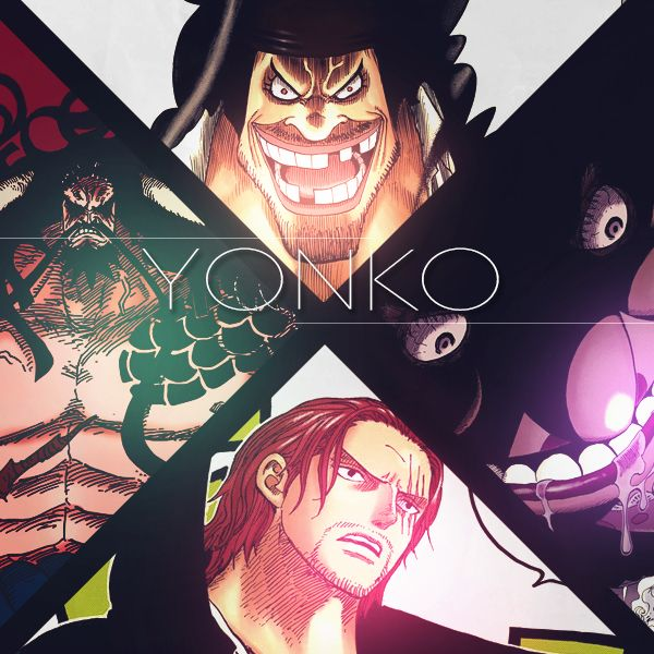 Yonko Blackbeard Big Mama Shanks Kaido One Piece One Piece One