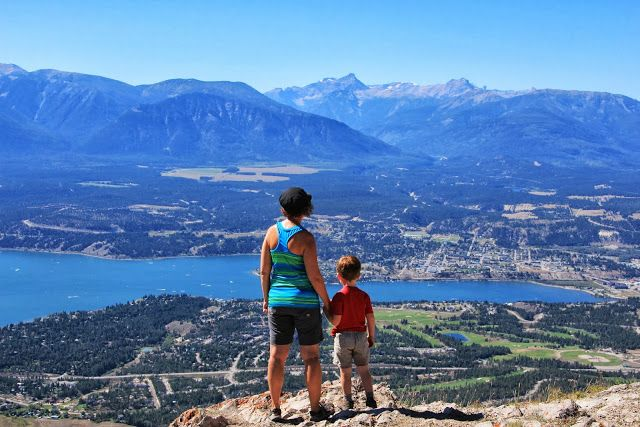 Mt. Swansea hike, Invermere, British Columbia