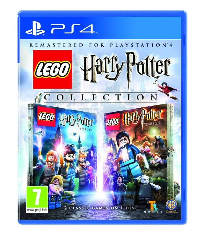 PS4 LEGO Harry Potter Collection disc case