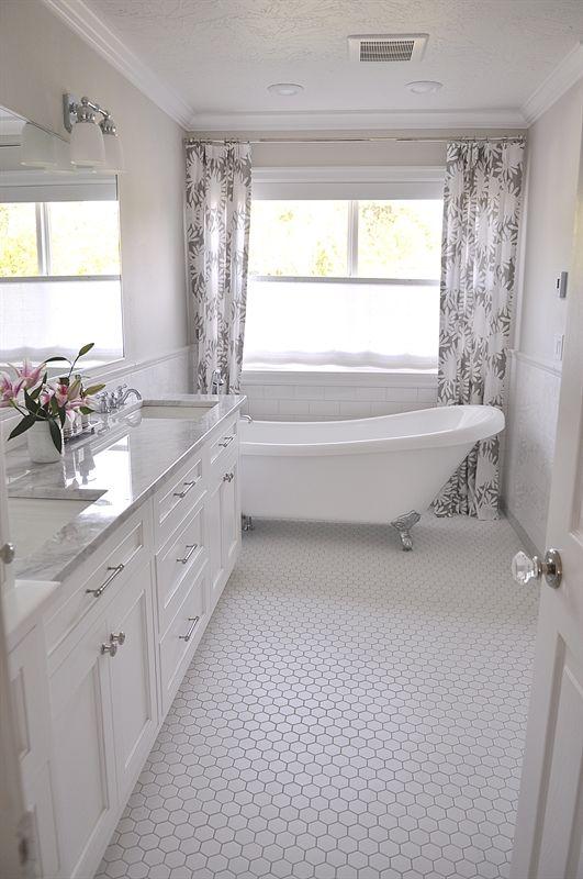 Best 25 White master bathroom ideas on Pinterest