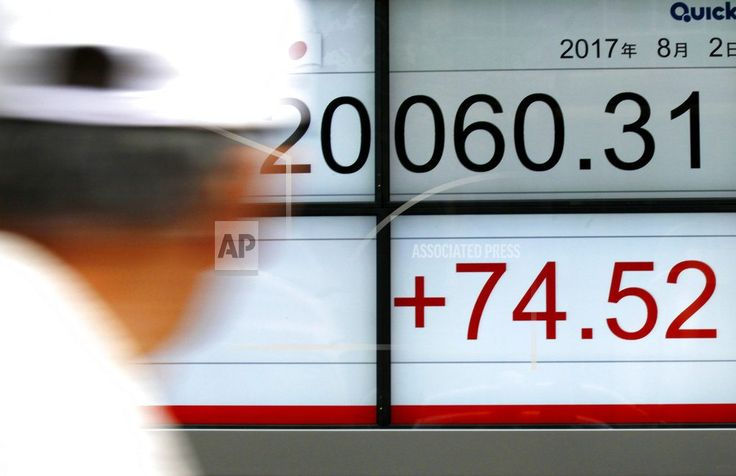SEOUL, South Korea/August 2, 2017 (AP)(STL.News) — Global stock markets meandered in mixed trading on Wednesday following a record high finish for the Dow industrial average.    Upbeat corporate earnings reports boosted investor confidence, but Sha...