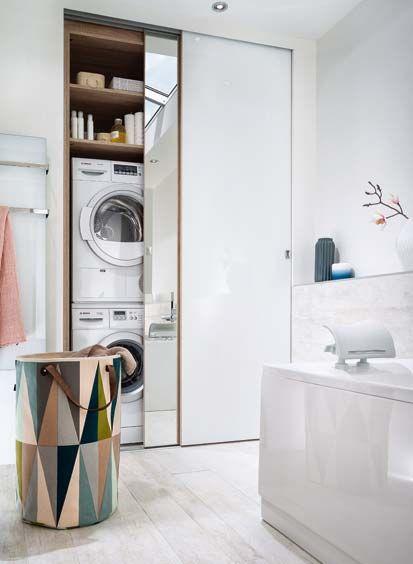 25 Best Ideas About Lave Linge Salle De Bain On Pinterest