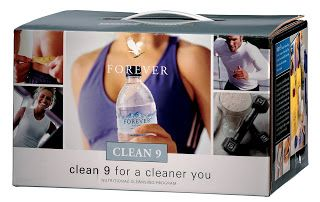 Forever Clean 9  Puts you on track to a cleaner, healthier you, whilst cleansing your body of unnatural chemicals.   Contains:  3 Aloe Vera Gel  Forever Lite Ultra Vanilla/Chocolate with Aminotein  Garcinia Plus  Bee Pollen  Shaker and Tape Measure  Step by step guide to the Clean 9 Programme