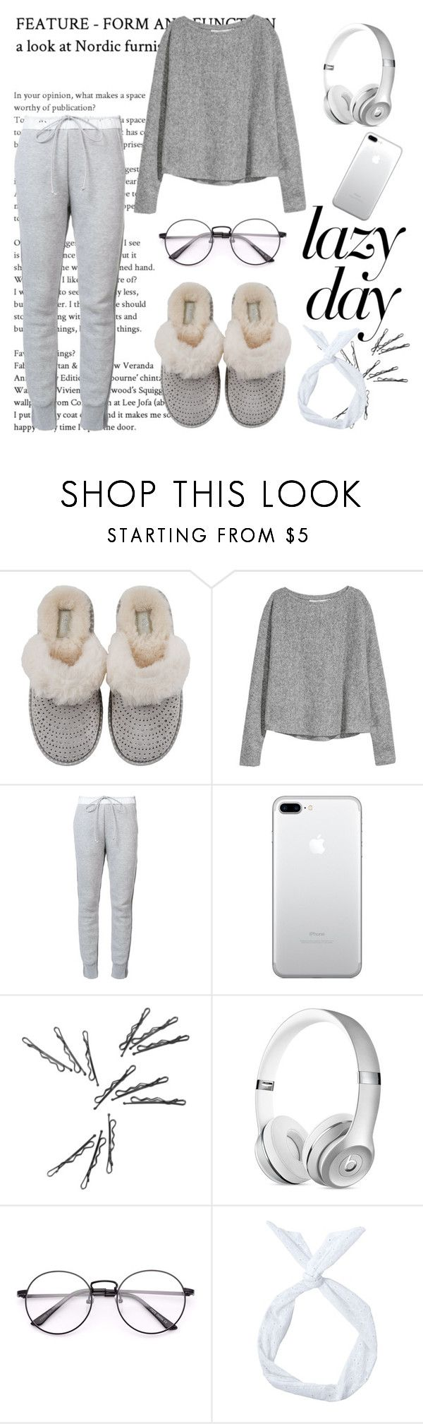 """""""Winter Style: Lazy Day :)"""" by edyta-murselovic ❤ liked on Polyvore featuring UGG and Sacai"""