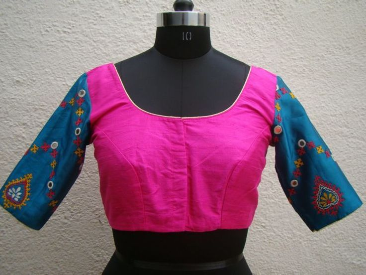 blue-pink-kutch-work-blouses-from-house-of-taamara.jpg (740×555)