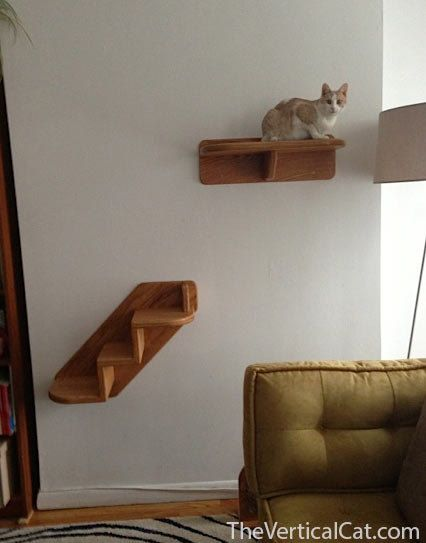 Awesome 3Step Cat Stair From The Vertical Cat By TheVerticalCat On Etsy