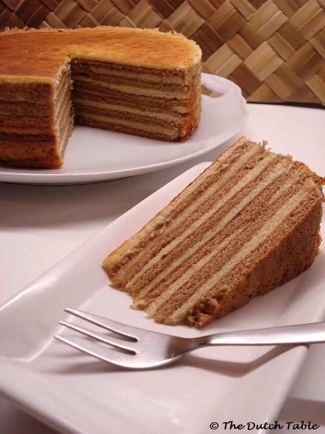 Spekkoek Recipe (Indonesian Layered Spice Cake) cant wait to try I  LOVE cardomon