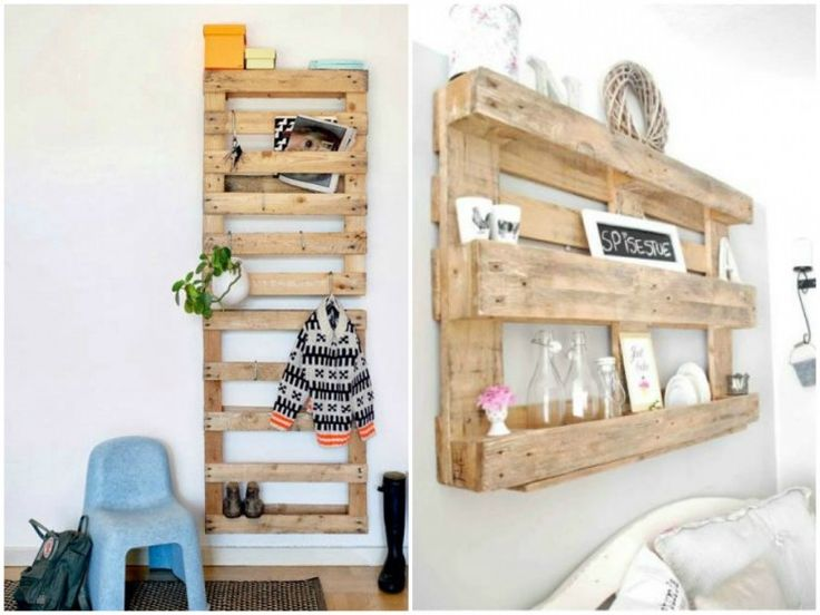 177 best images about cr ation r cup on pinterest pallet chair crate - Etagere avec des palettes ...