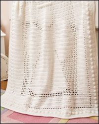 Revisions for this pattern that is in Crochet World December 2008 and Fall 2011:  Angel Baby Afghan, page 6  Row 3: Ch 3, [dc in each of next 3 sts, 5-dc cl (see Special Stitch) in next st] 29 ...