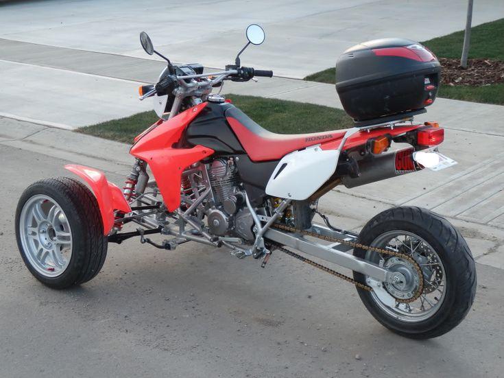 Reverse Trike Suspension