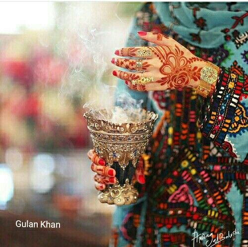 Fantastic view of traditional Balochi dress