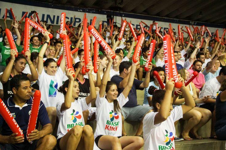 Média de público no Taquaral mostra paixão do torcedor do Vôlei Brasil Kirin