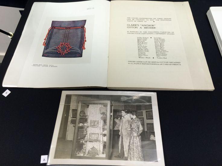 GSAA/EPH/9 - Ephemera from the Needlecraft Exhibition 1916. Photograph of the exhibition.