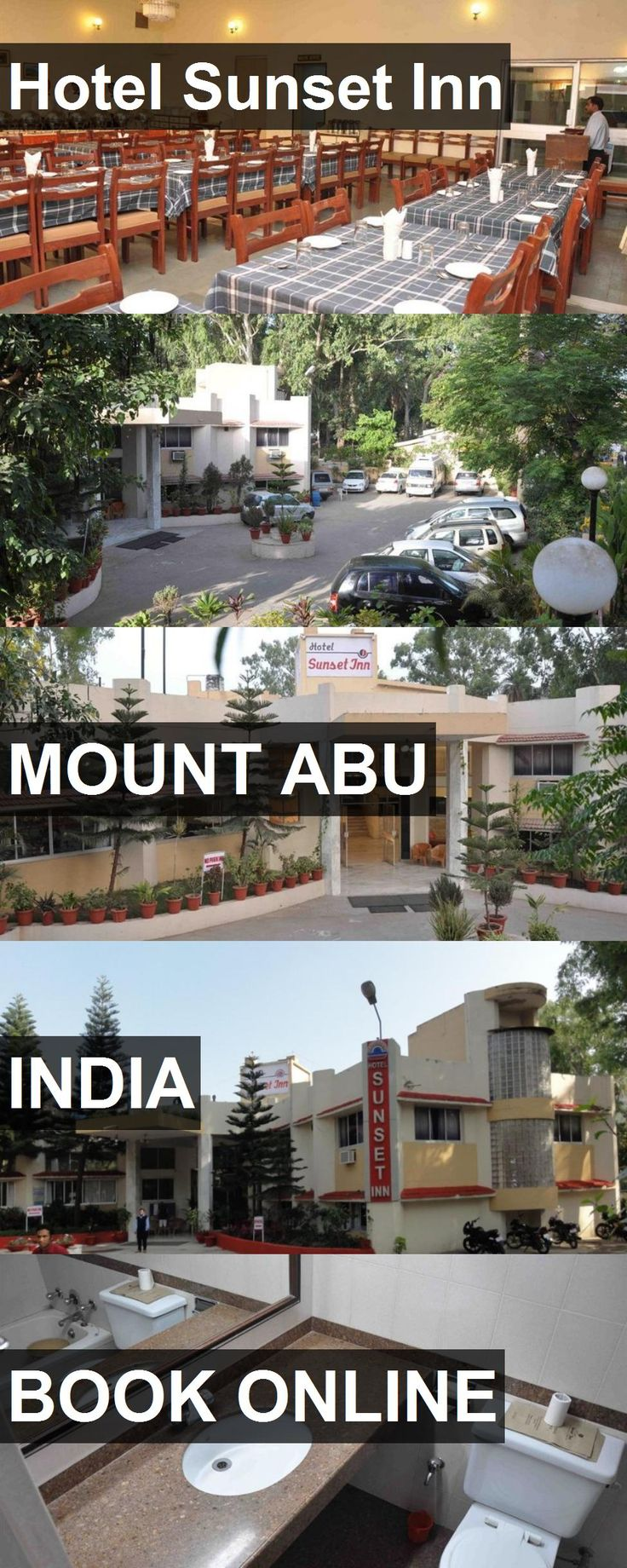 Hotel Hotel Sunset Inn in Mount Abu, India. For more information, photos, reviews and best prices please follow the link. #India #MountAbu #HotelSunsetInn #hotel #travel #vacation