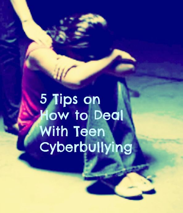 5 Tips on How to Deal With Teen #Cyberbullying
