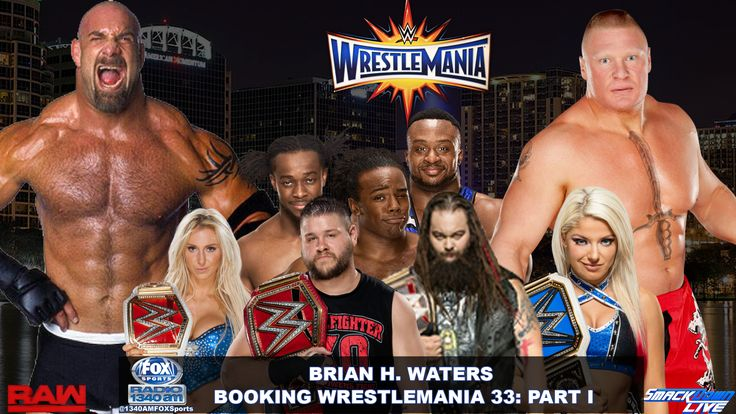 WrestleMania 33 is Around the corner WrestleMania 33 is nearly a month away and the anticipation of biggest event in Sports Entertainment continues to grow.For Raw, there is one more stop on the road to WrestleMania.   #Brock Lesnar #Goldberg #Seth Rollins #triple h #Undertaker #WrestleMania #Wrestling #WWE