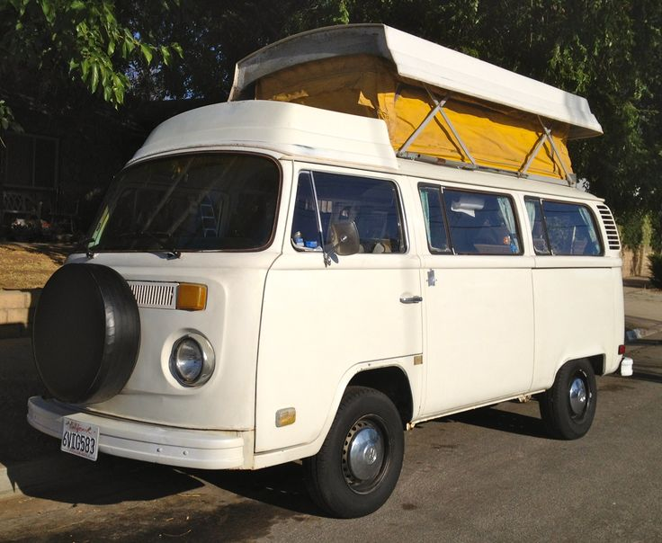 1973 VW Volkswagon Auto Riviera Campmobile For Sale In San Diego County  92071 $12,500 Http: