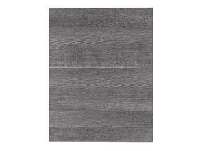 Ice Wood | Køkkenlåge i lys grå træstruktur og med matchende kanter af kunststof - Kvik.dk