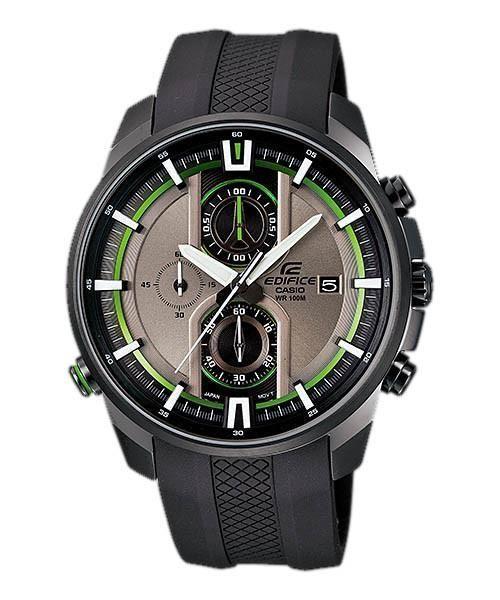 Casio Men's EDIFICE Analog Display Quartz Black Watch