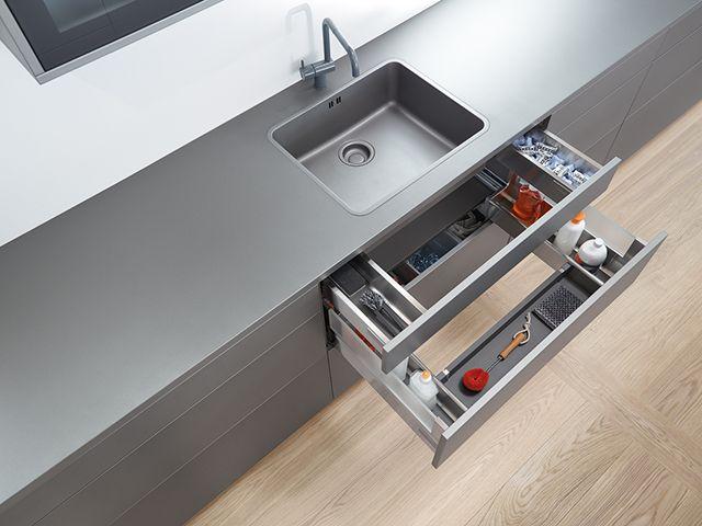 Utilizarea optima a spatiului de sub chiuveta