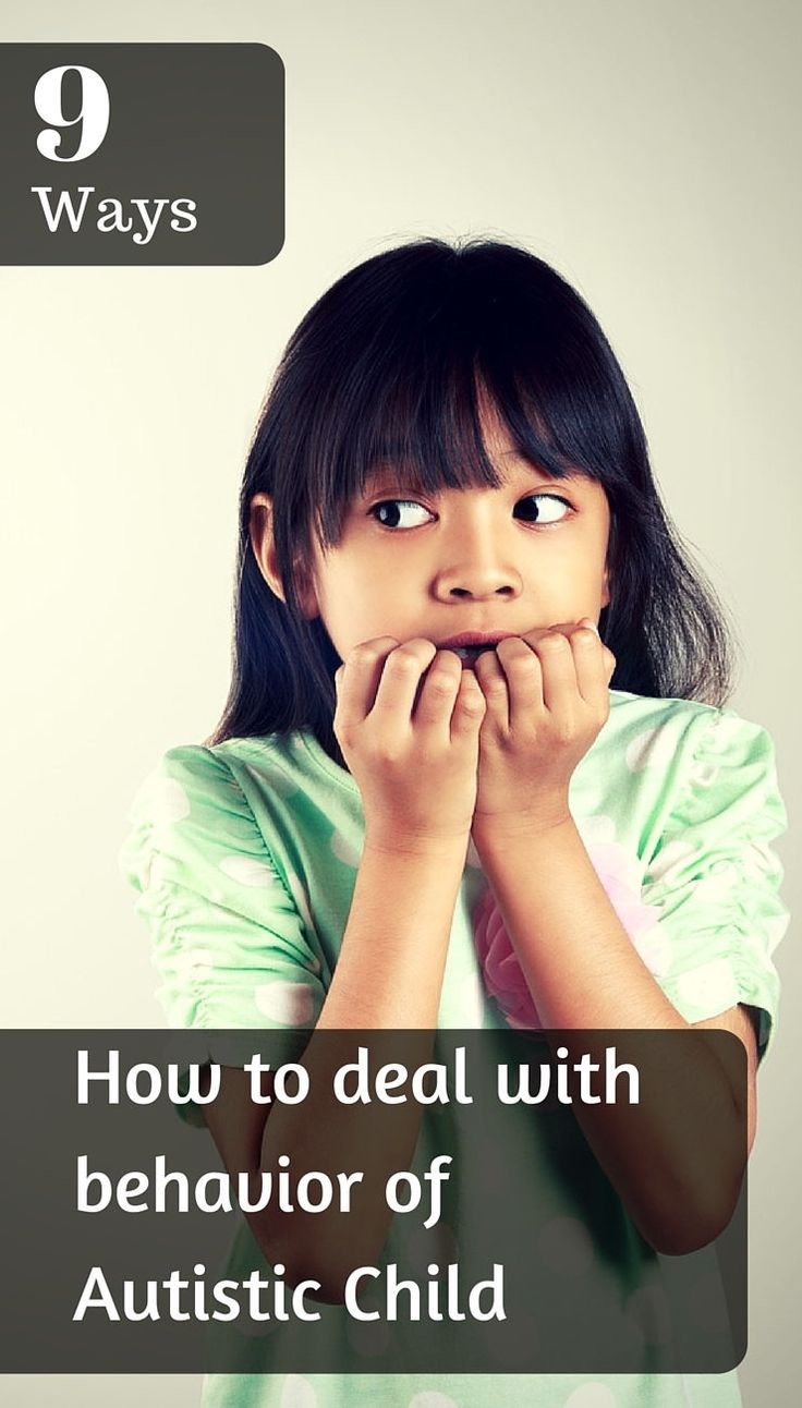How to deal with behavior of Autistic Child (9 Ways