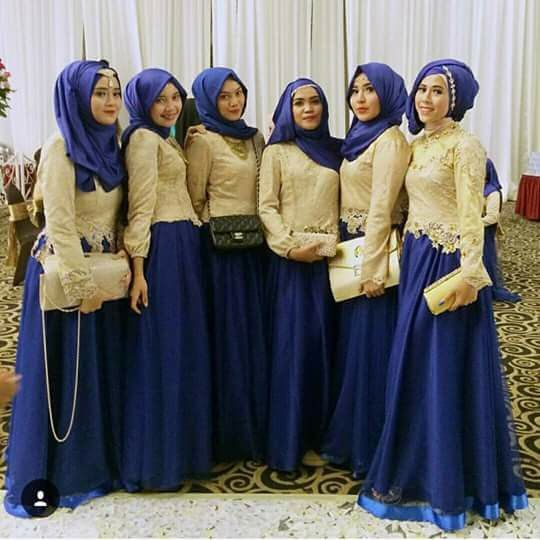 Hijabi bridesmaid dress                                                                                                                                                                                 More