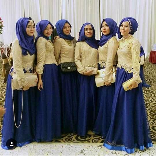 Hijabi bridesmaid dress                                                                                                                                                                                 More