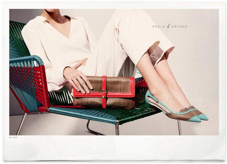 #fashion #paoladarcano #shoes #flats #ss15