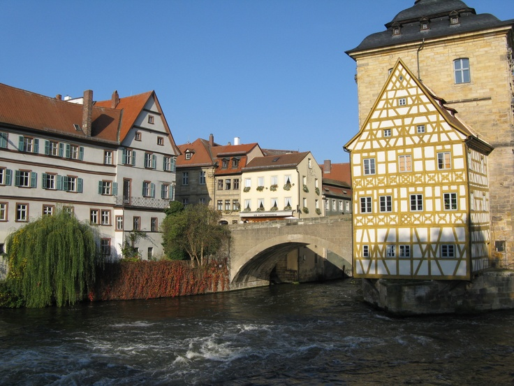 Bamberg, Germany.  One of the few towns left untouched by WWII.