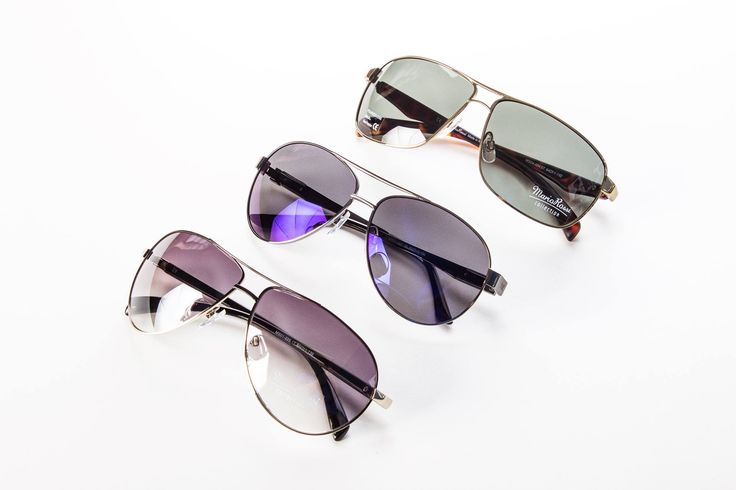 Aviator sunglasses. Mario Rossi